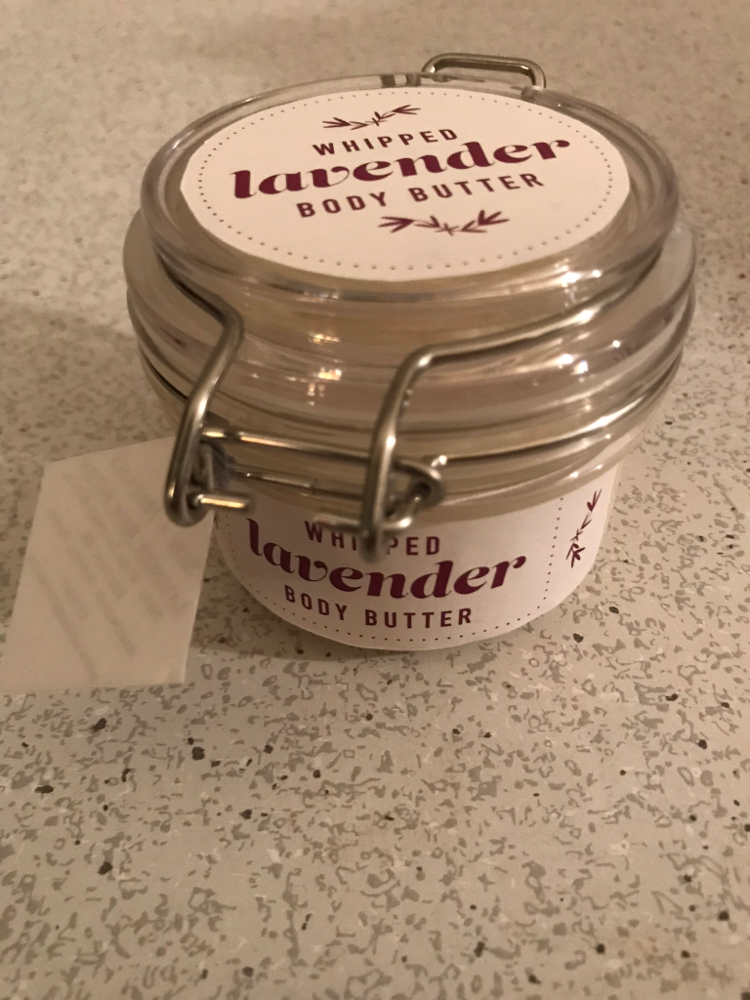 Whipped Lavender Body Butter