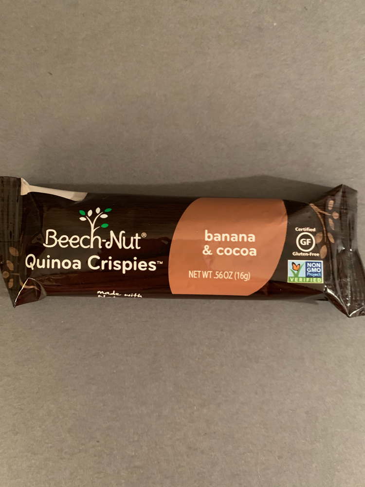 Beach-Nut Quinoa Crispies banana & cocoa
