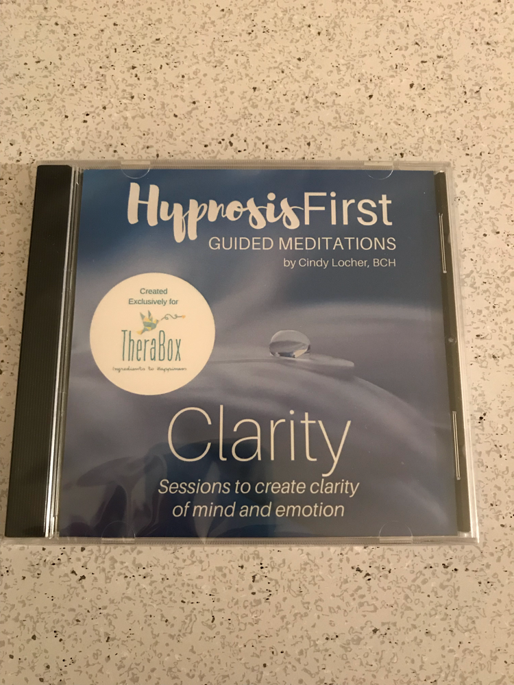 Clarity hypnosis meditation CD