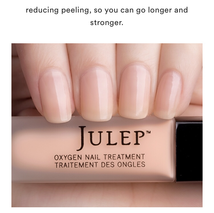 Julep Sheer Pink Oxygen Nail Treatment