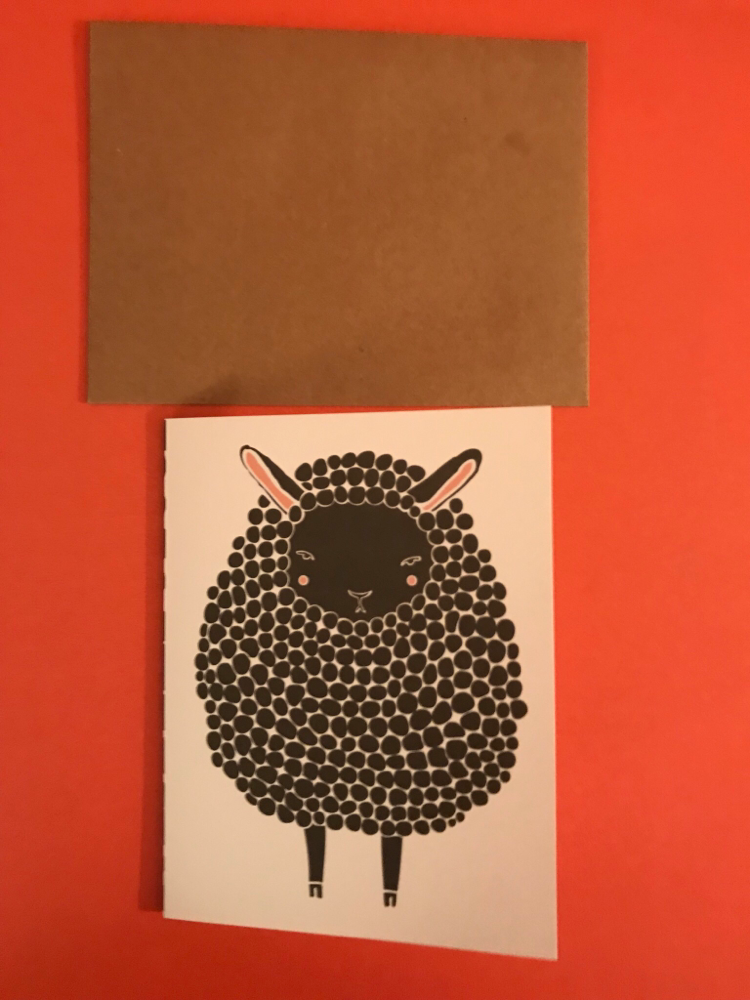 Black Sheep Card By Gingiber
