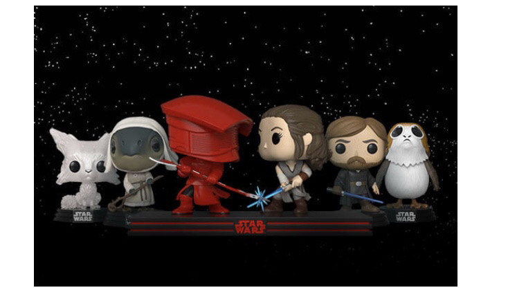 Funko Star Wars: The last Jedi