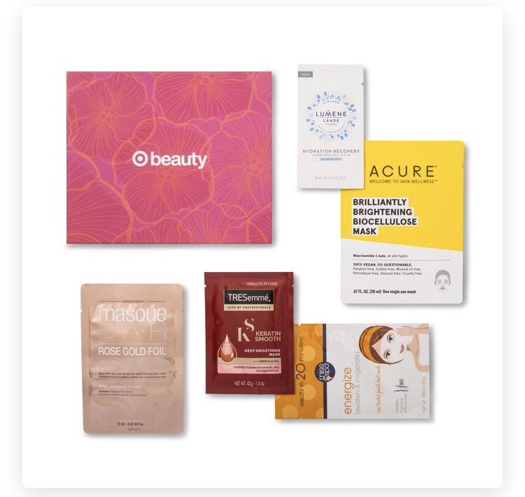 Target Facial Beauty Box September