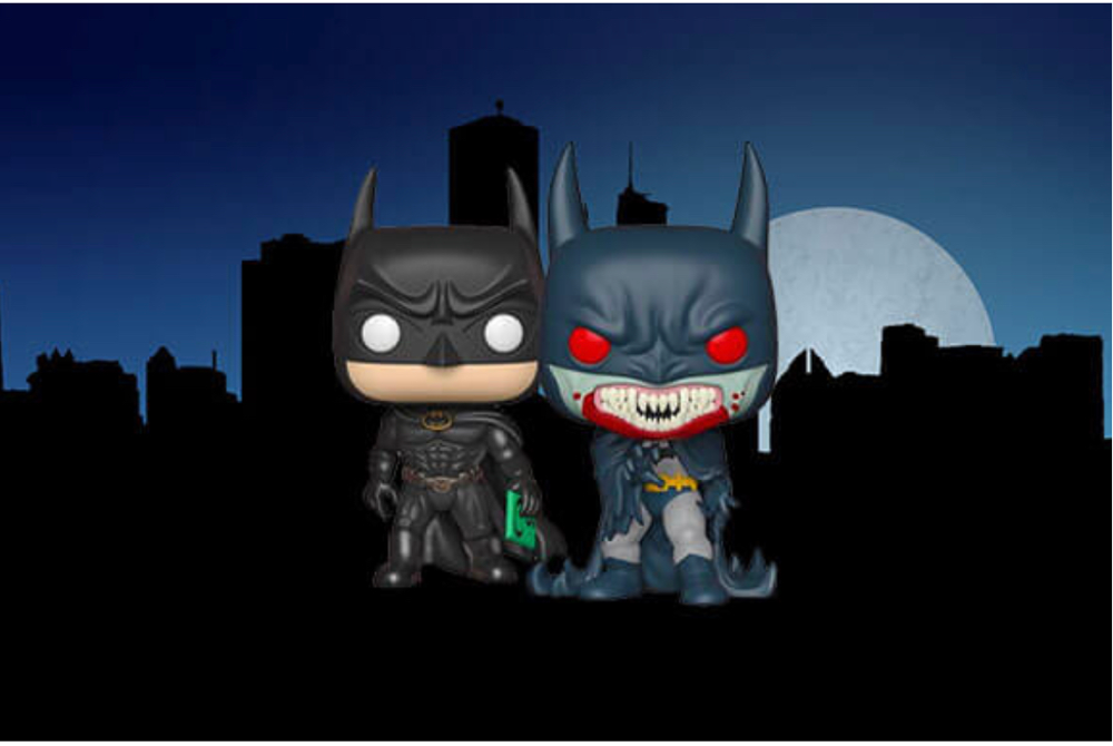 Pop in a box pre order Batman red rain