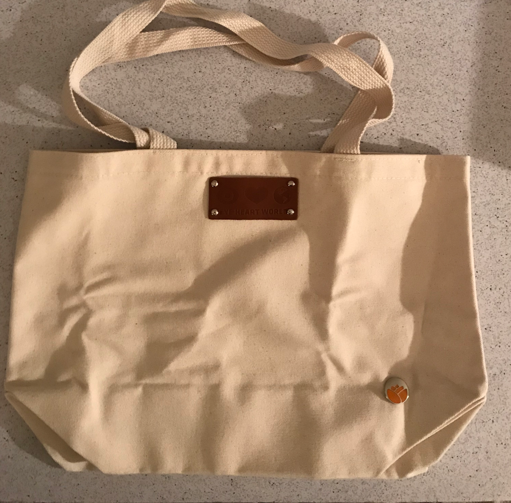 Eye of the heart Harriet Tote in Natural