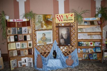 Выстава да Дня беларускага пісьменства