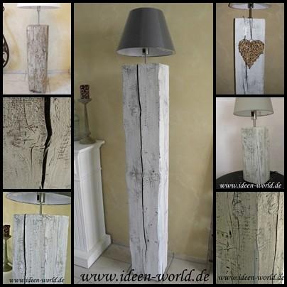 Lampen Holz Unikate