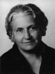 Maria Montessori um 1930