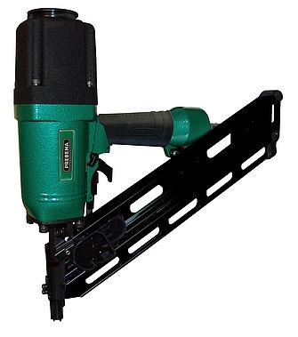Druckluftnagler für Streifennägel Modell: 6X-PR90
