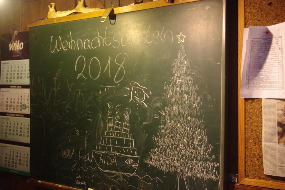 Weihnachtsbasteln 2018