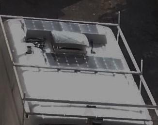 panneaux solaires 100 watt chacun