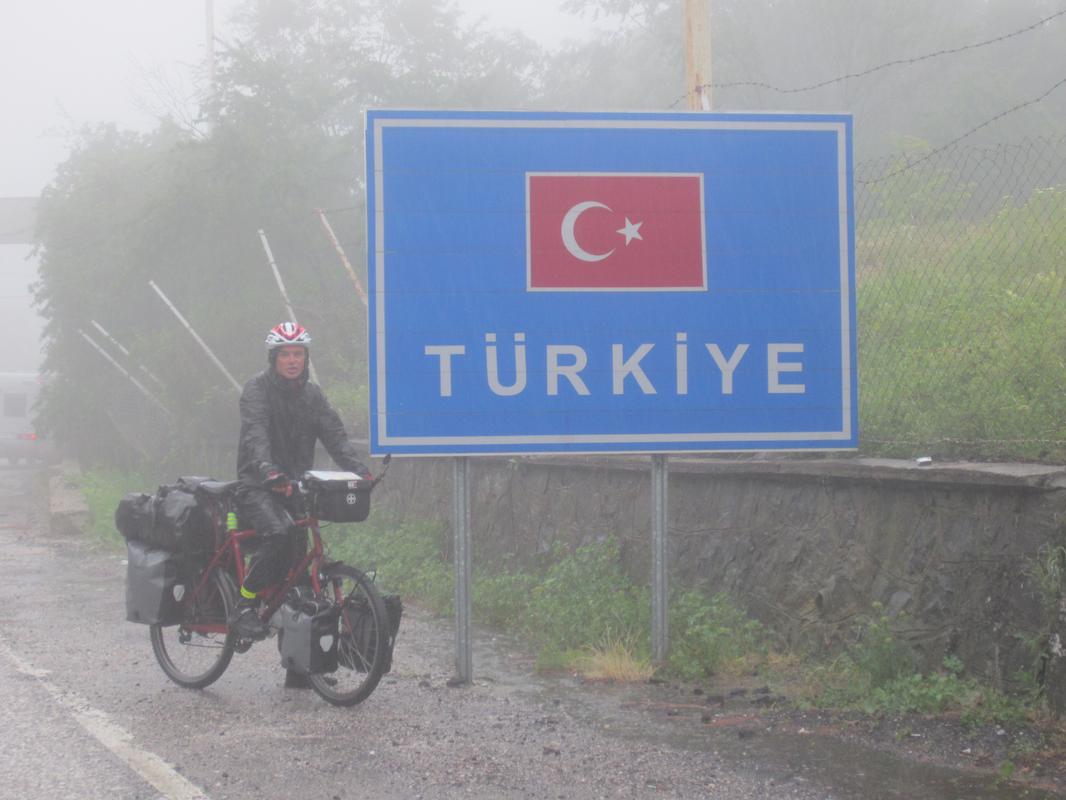 Hinein in die Türkei
