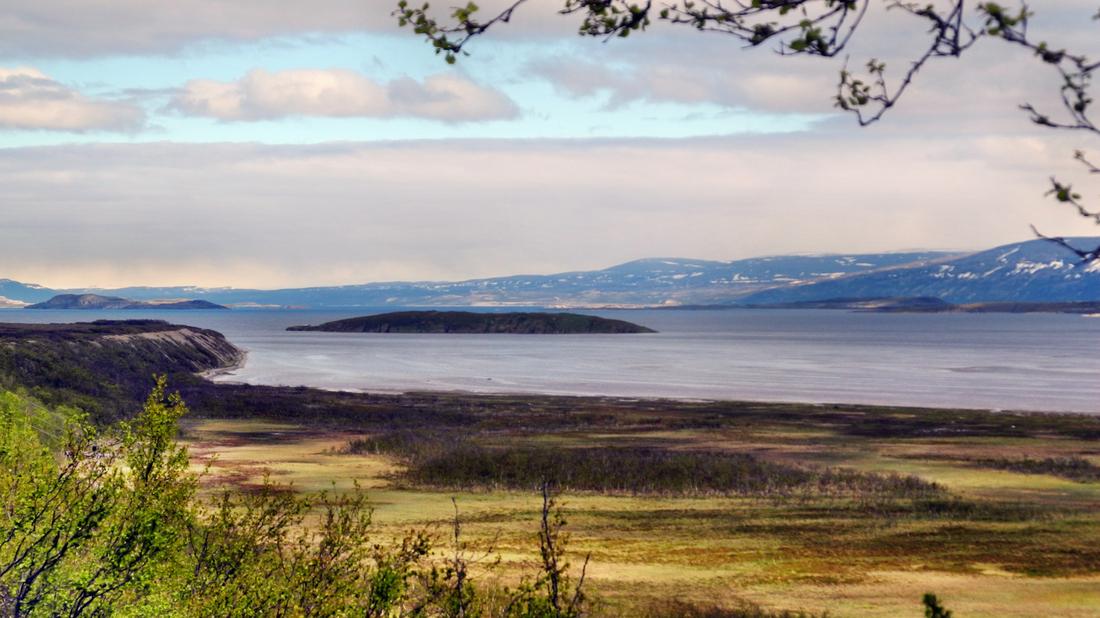 Wir erreichen den Porsangenfjord
