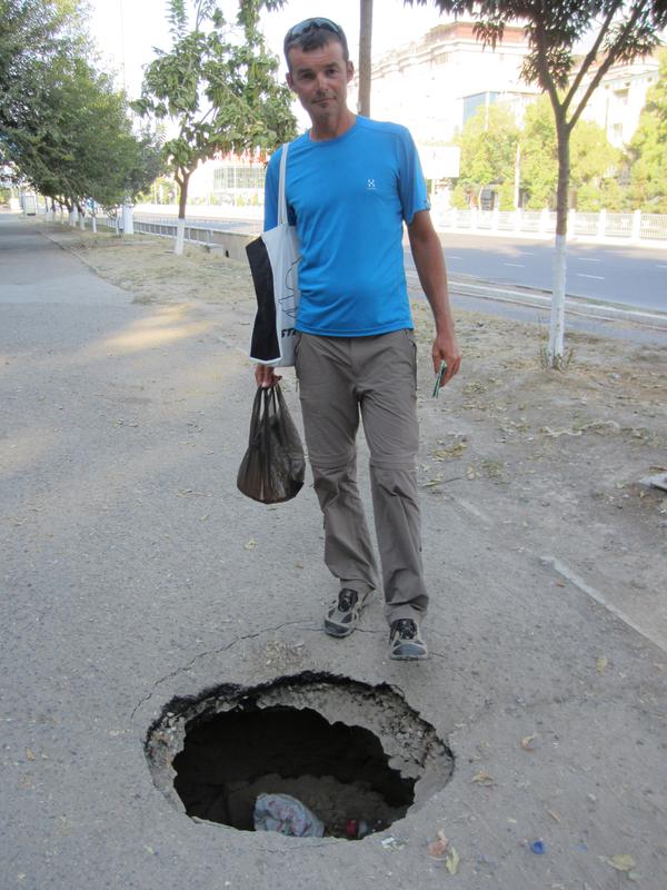 Solche Fallen sind keine Seltenheit, nicht nur in Taschkent