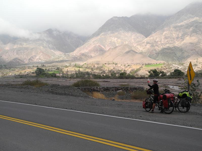 Der Aufstieg in die Anden