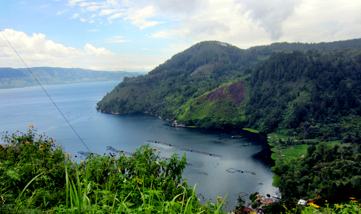 Der Lake Toba