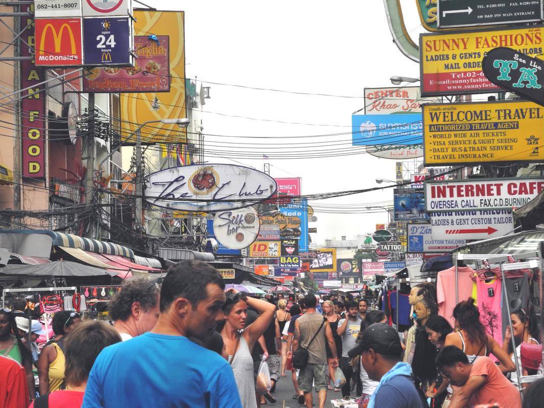 Auf der Khao San Road