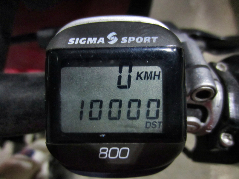 Es hat Bing gemacht!! 10 000 Kilometer voll