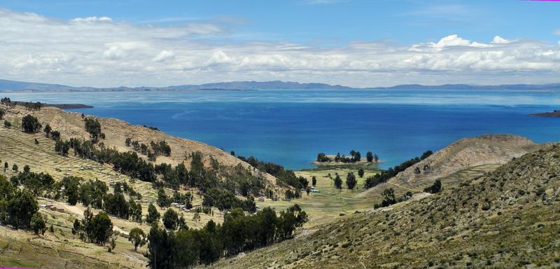 Den Titicacasee auf 3 800m zu erreichen war ein sehr berührender Moment