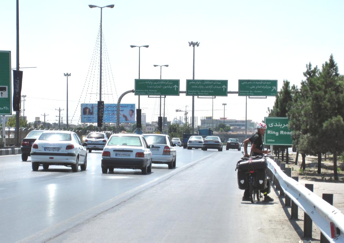 Einfahrt nach Mashhad-der großen Pilgerstadt