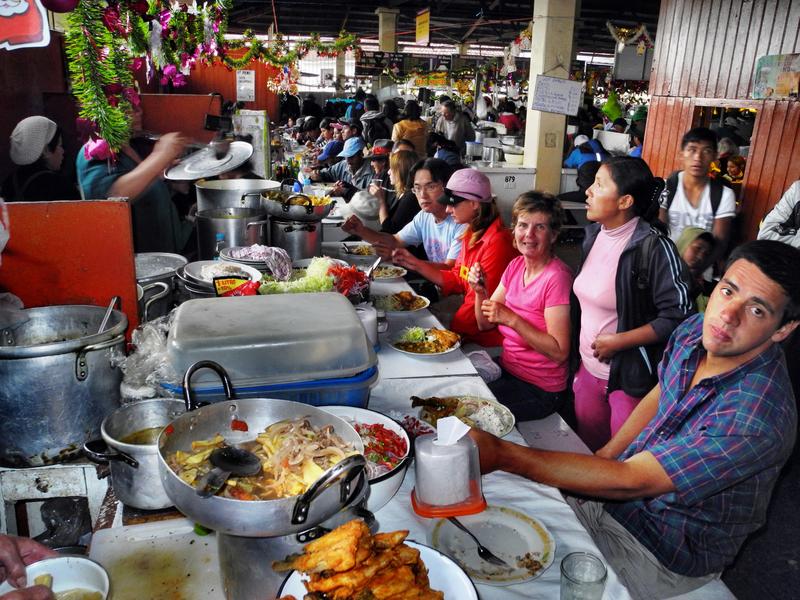 Das beste Essen der Stadt gibt es in den Markthallen
