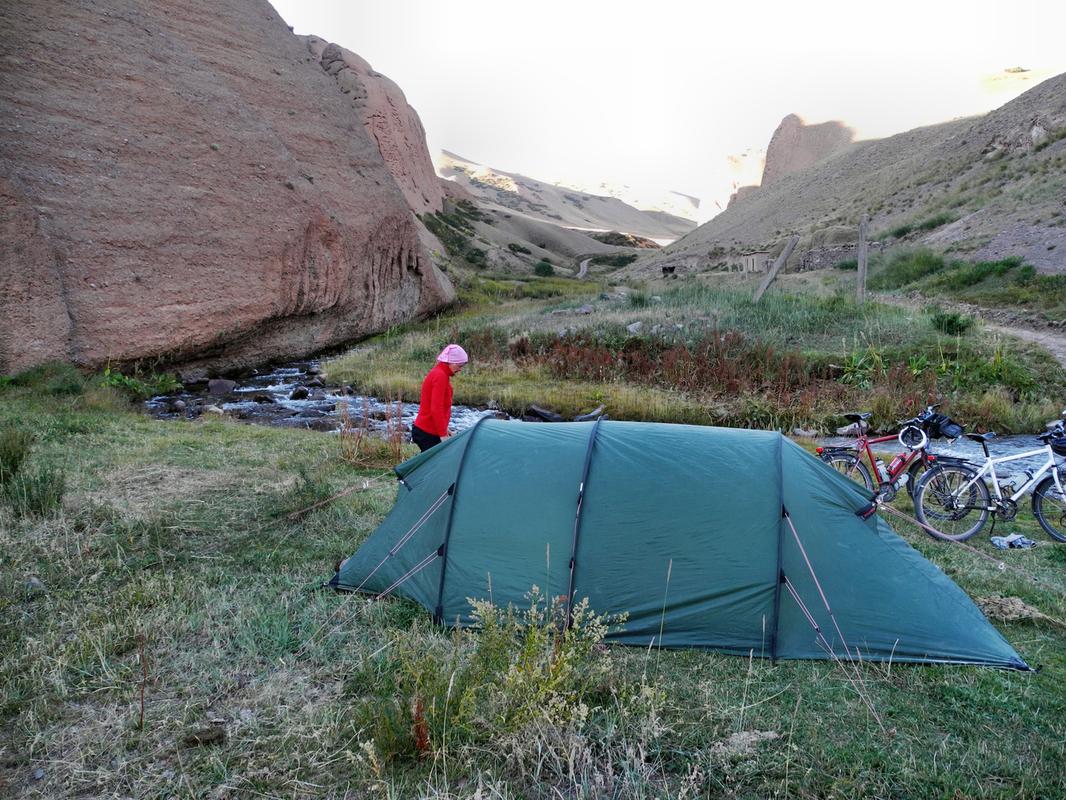 Nach unserer kältesten Zeltnacht mit -16°C
