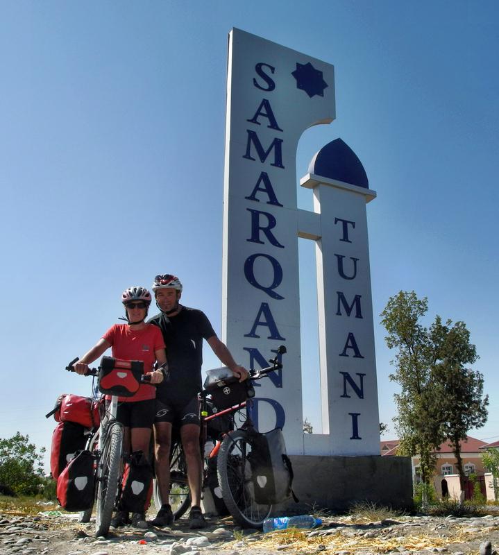 Hinein nach Samarkand