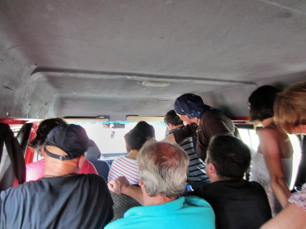 Im Minibus