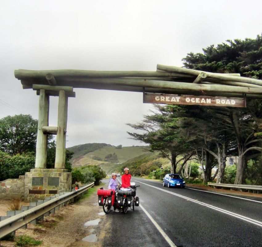 Hier beginnt die Great Ozean Road