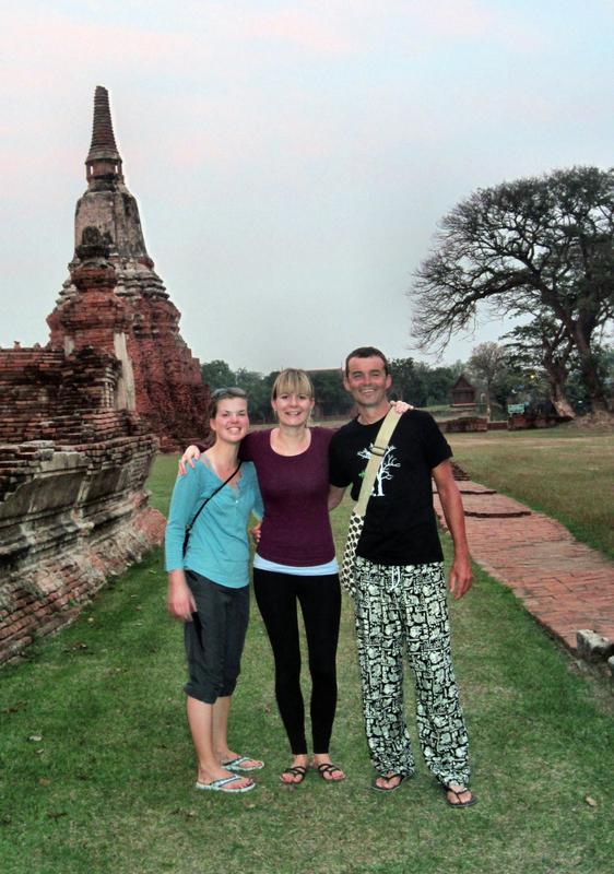 In der alten Königsstadt Ayutthaya