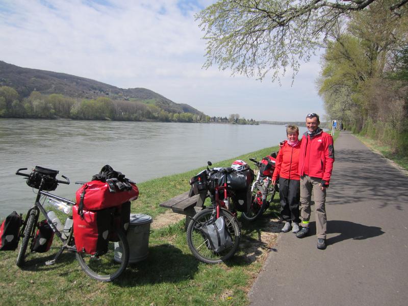 Kurz vor Wien erreichen wir die Donau
