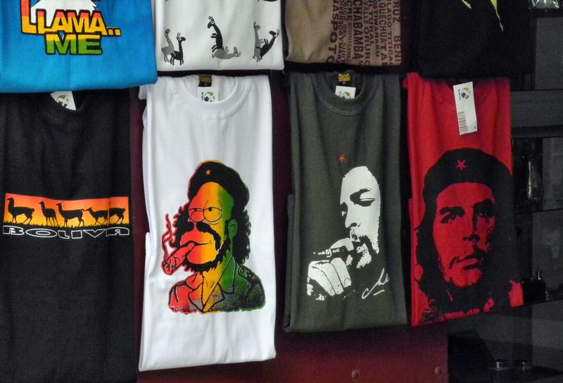 Che Guevara wir in ganz Südamerika nach wie vor hoch verehrt