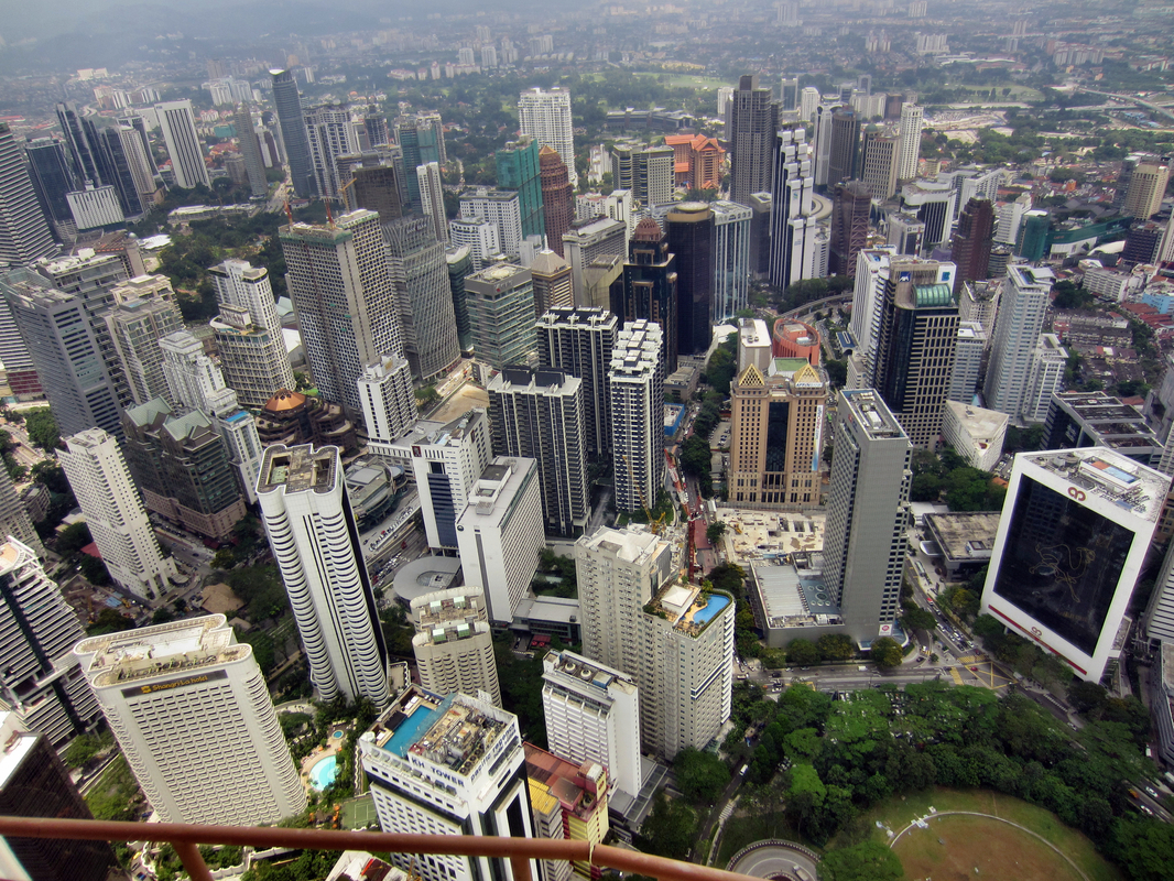 Blick vom Kuala Lumpur Tower