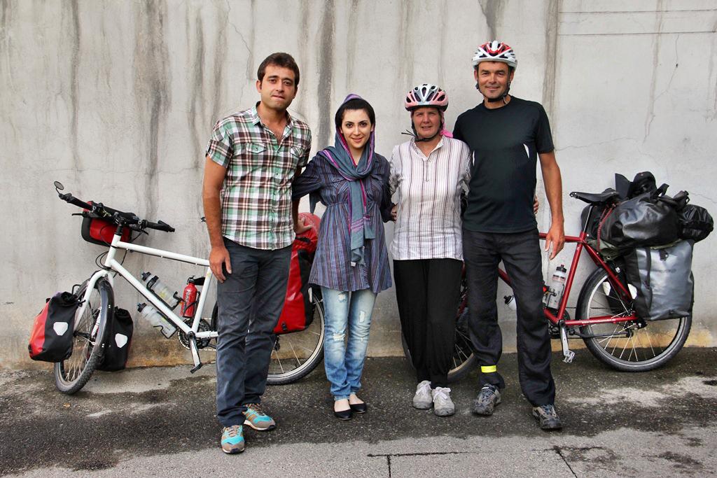 Abschied von unseren Teheraner Freunden
