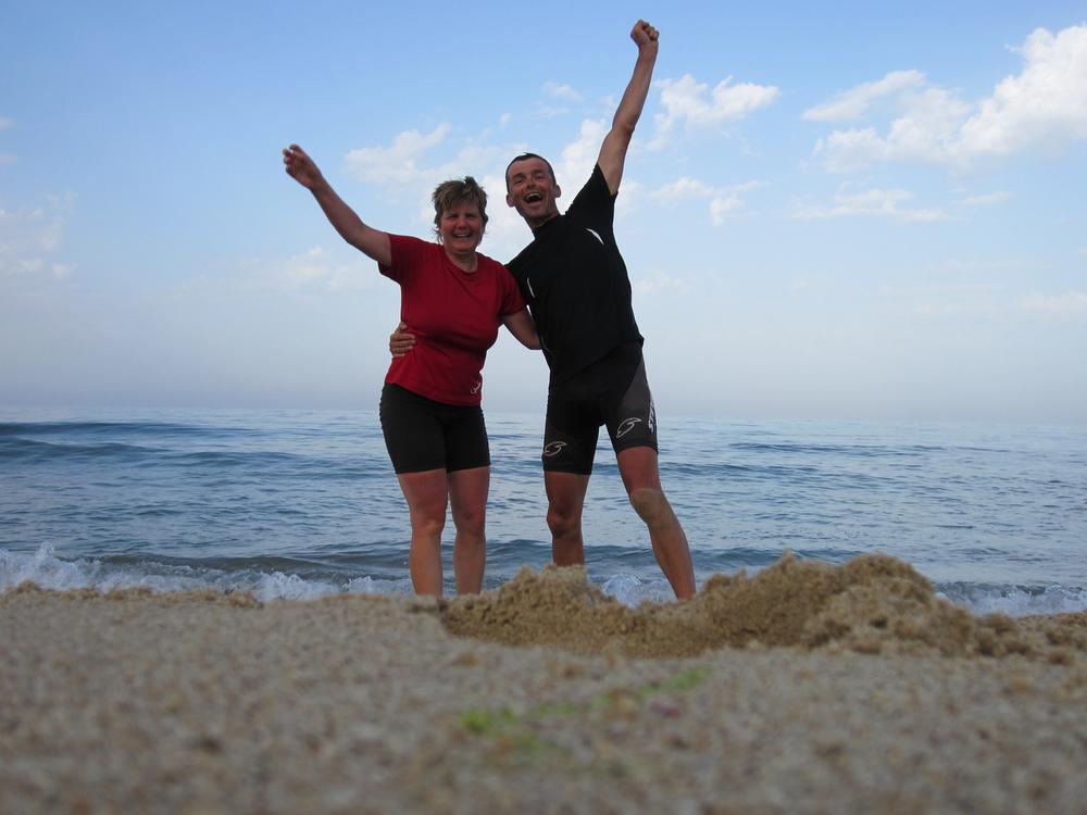 Nach 3229 Kilometern erreichen wir das Schwarze Meer