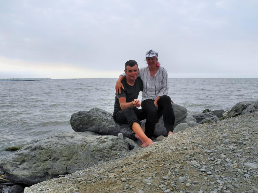 Unglaublich - Wir sind am Kaspischen Meer