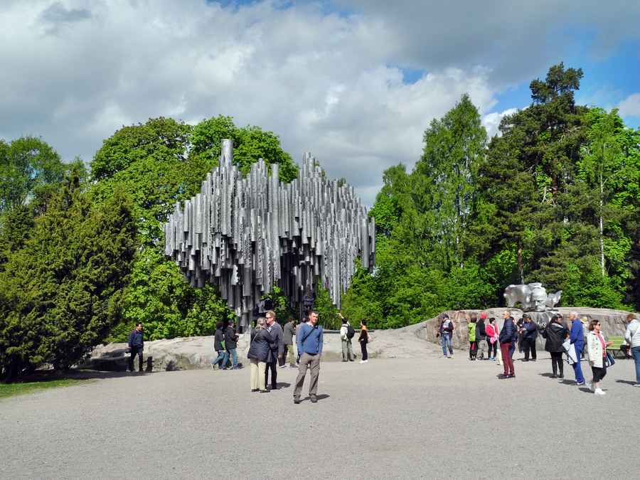 Am Sibeliusmonument