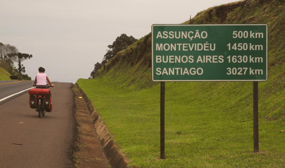 Auf dem Weg nach Argentinien