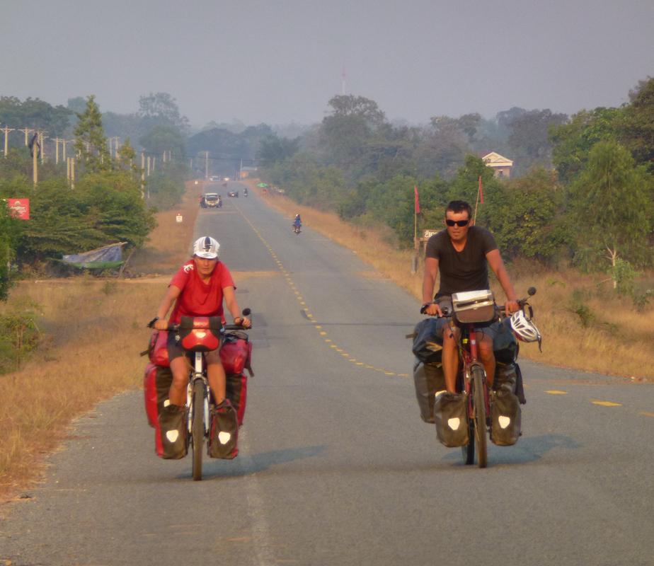 Schwitzen in Kambodscha