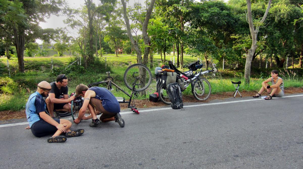 Schon wieder Speichenbruch an Ralfs Fahrrad