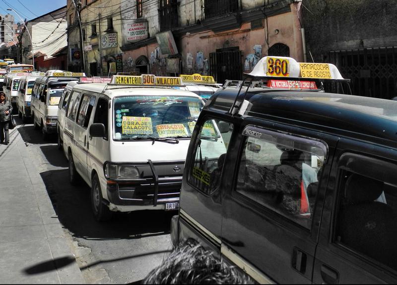 Der öffentliche Nahverkehr in La Paz