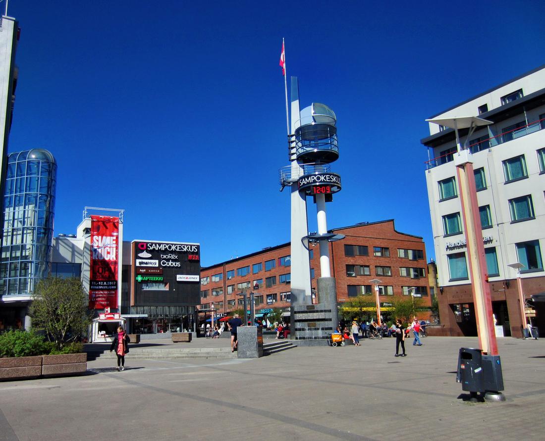 Der Lordiplatz in Rovaniemi