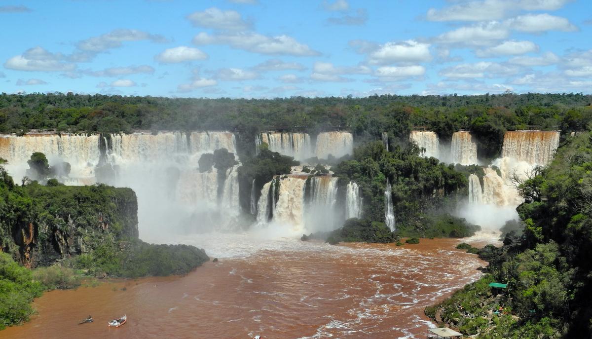 Bei den Iguacuwasserfällen