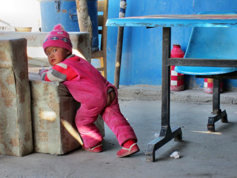 In China gibt es keinen Umweg über eine Windel