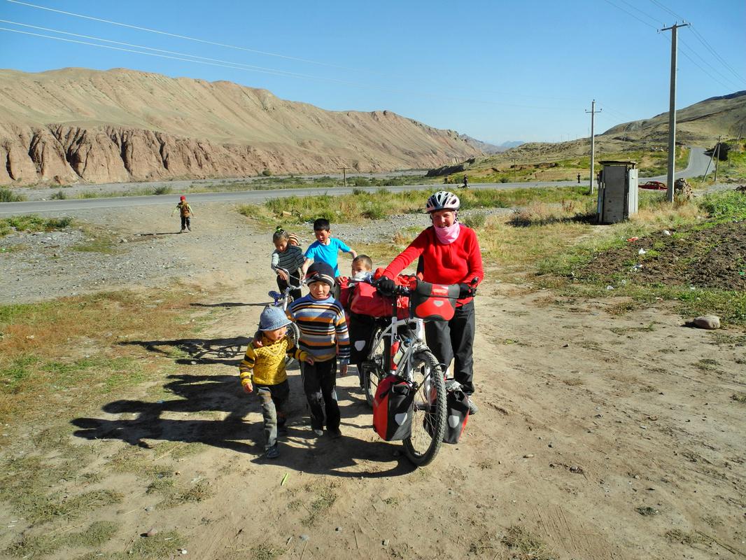 Nur noch 10 Kilometer bis China