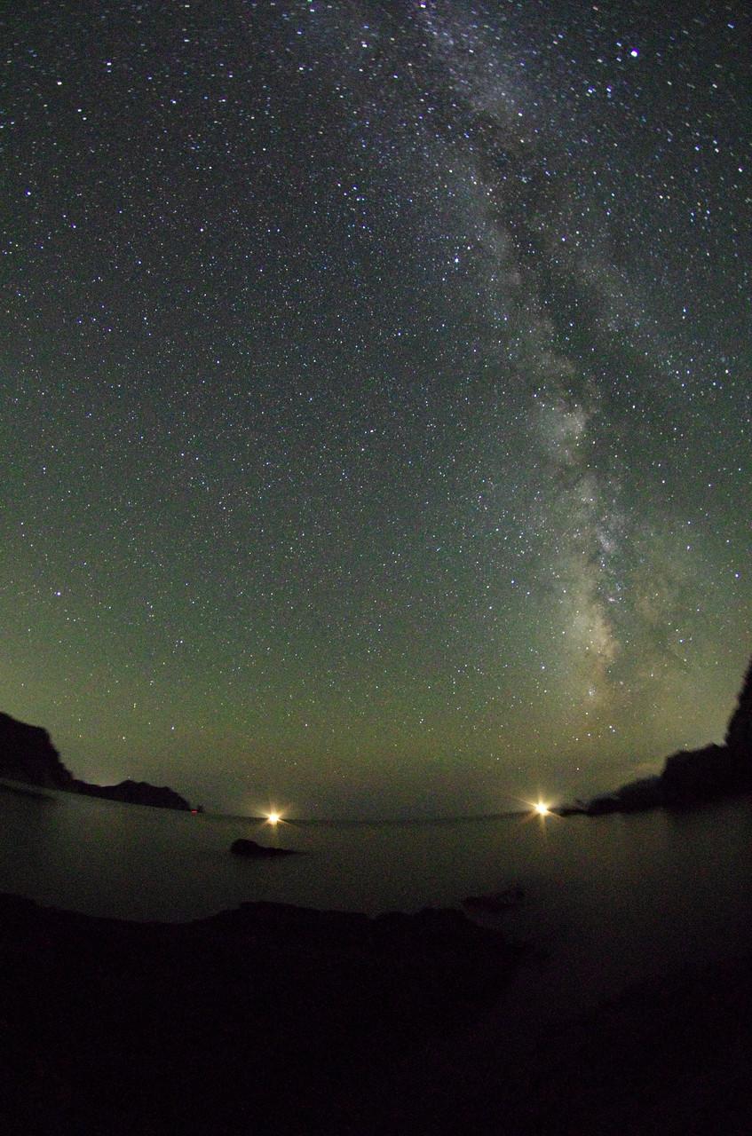 満点の星空「天の川」