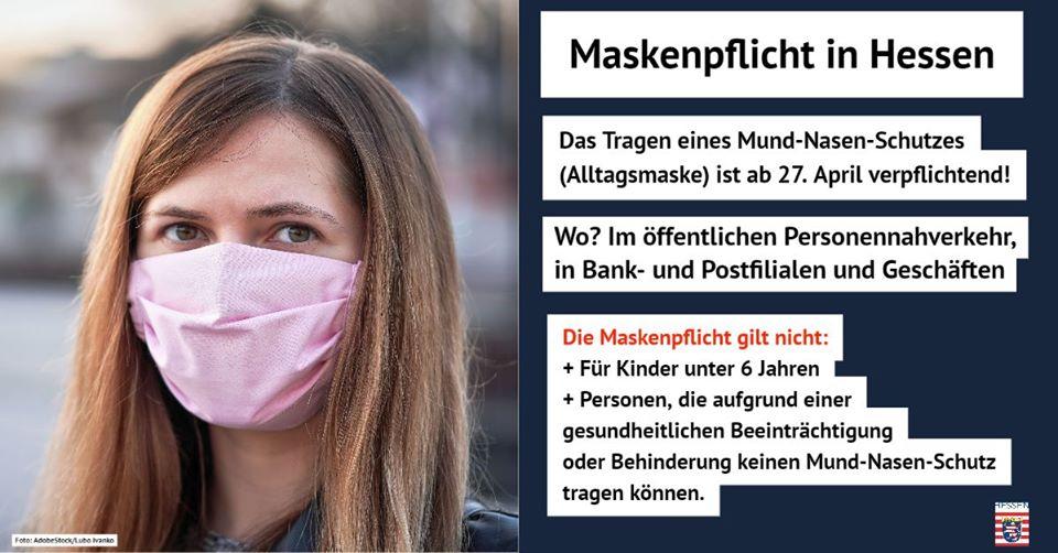 Maskenpflicht In Hessen