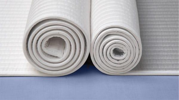 Yogamatten aus Baumwolle