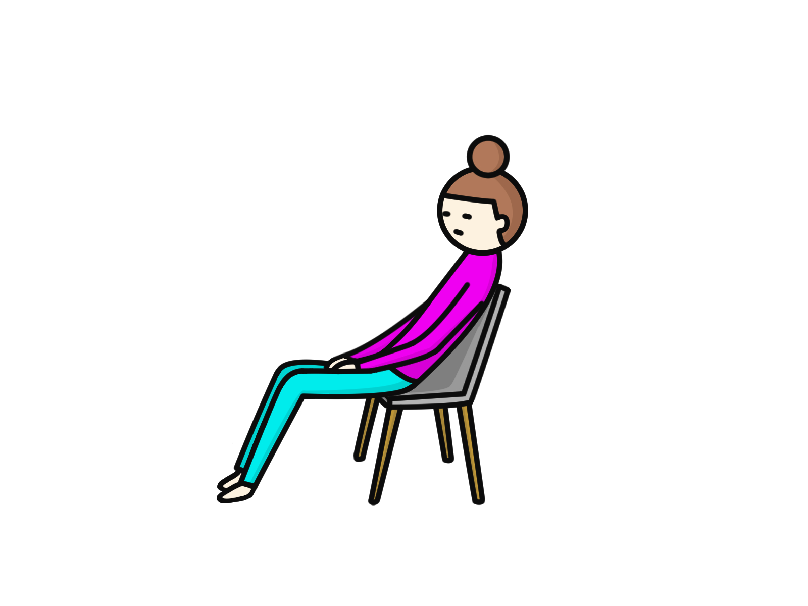 猫背改善の豆知識➃猫背になる座り方【保土ヶ谷区のパーソナル整体サロン】