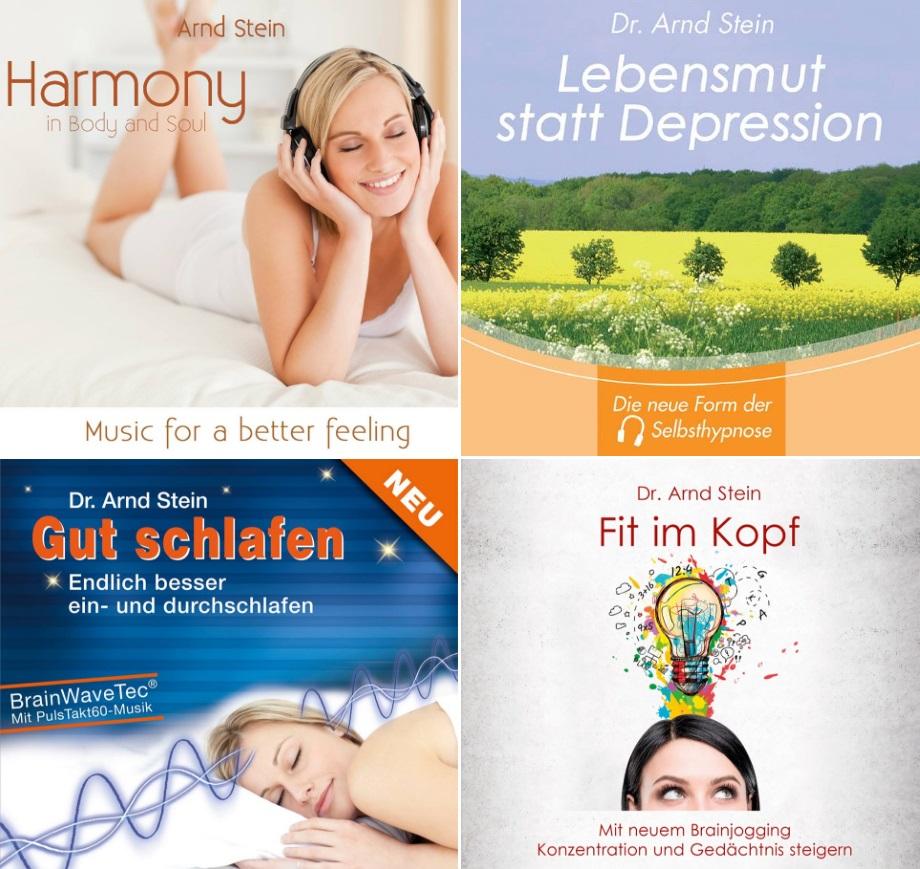 Entspannungsmusik für Mensch und Tier, Wellness-Musik,  DVDs, Gemafrei, Therapie, Selbsthypnose